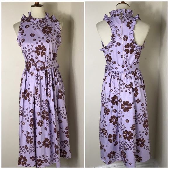 kate spade Dresses & Skirts - Kate Spade belted floral dress